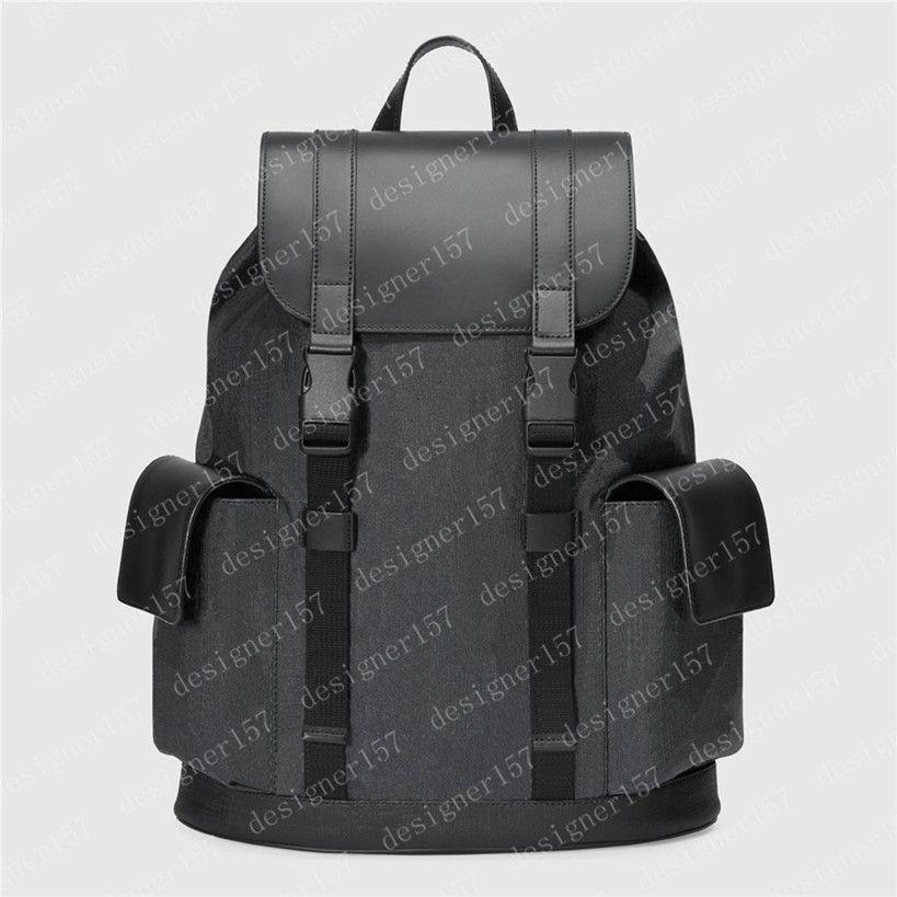 Rucksack Männer Taschen Handtasche Sport Outdoor Packs 2021 Herren Große Rucksäcke Mode Web Leder Tiger Snake Bag Fahion Geldbörse 495563 34/42 / 16 cm # Cu03