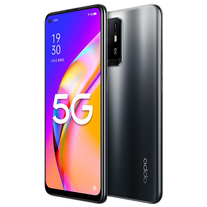 Original Oppo A95 5G Mobile Phone 8GB RAM 128GB 256GB ROM MTK 800U Octa Core 48.0MP AI 4310mAh Android 6.43 inch AMOLED Full Screen Fingerprint ID Face Smart Cell Phone