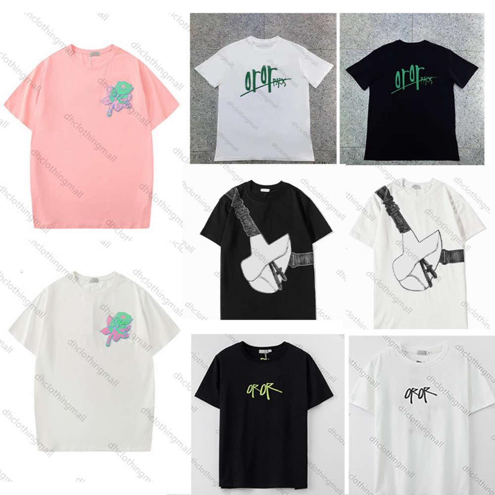 polo shirt 2021 Designers summer t shirts Mens Women Casual T-Shirt With Letters Print Man Short Sleeves Clothes 20ss
