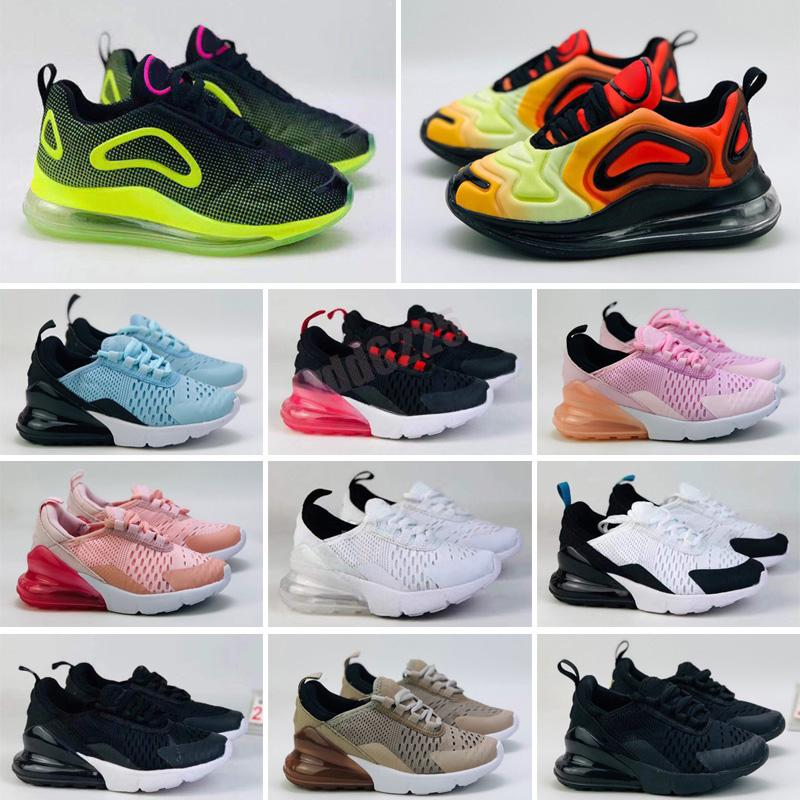 Infant Total Eclipse Kids running shoes Throwback Future Sunset Spirit Teal Sneaker Sea Forest outdoor Sports toddler boy & girl Trainer