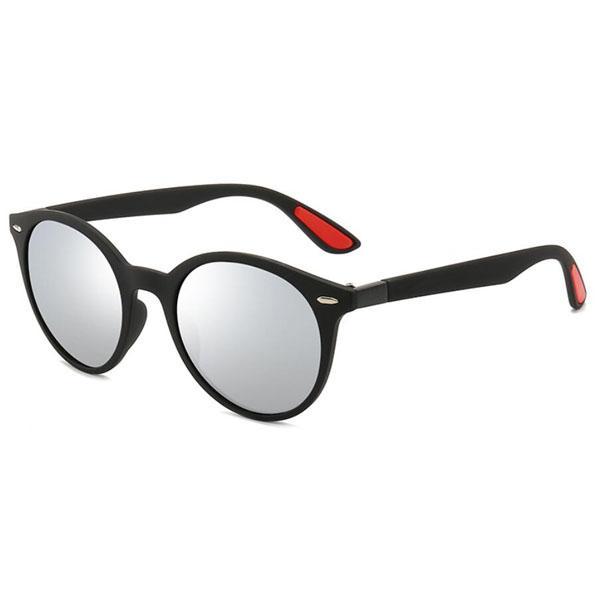 Moda Homens Sunglasses 62mm Homem Designer UV400 Lentes Preto Quadro Redondo Sol Óculos Ao Ar Livre Shades 4296 com casos