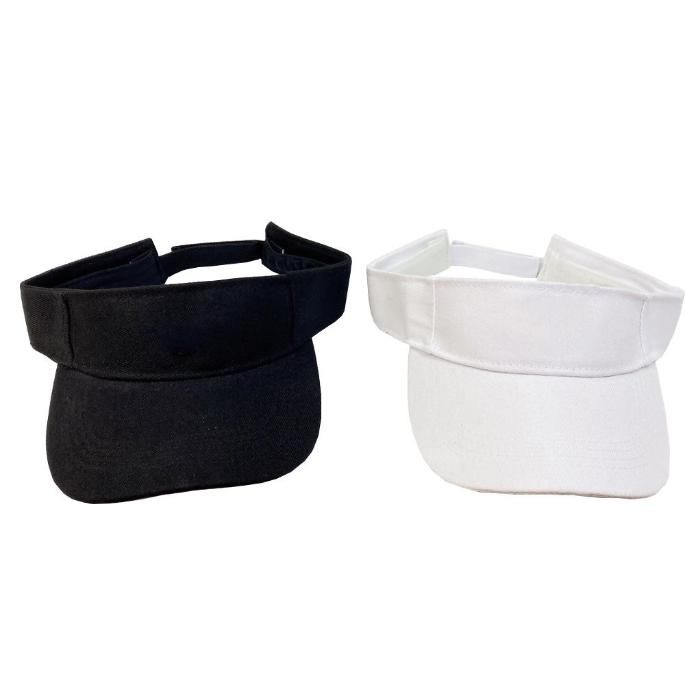 Women Visors Letter Empty Top Cap Summer Visor Sun Hat Sunglasses Accessories For Men Sports Golf Tennis Beach Headband Baseball Hats