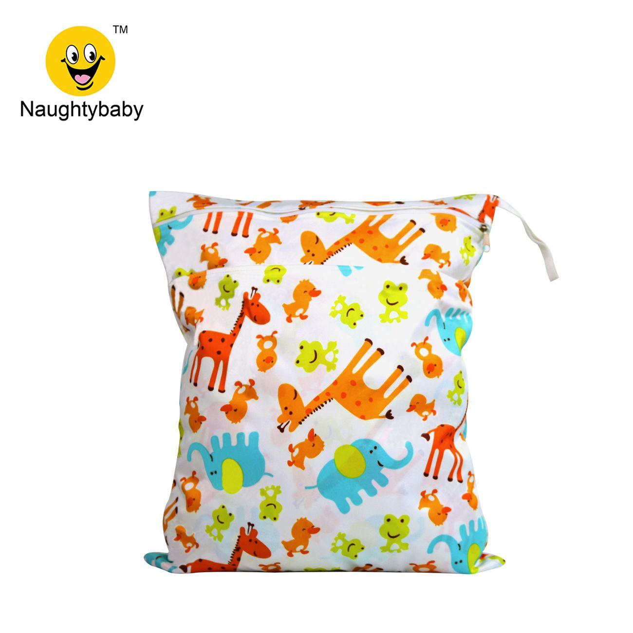 Doekluier nat droge tassen waterdicht herbruikbaar met twee zakken met ritssluiting strand zwembad Daycare Dile Baby artikelen Yoga gym bag