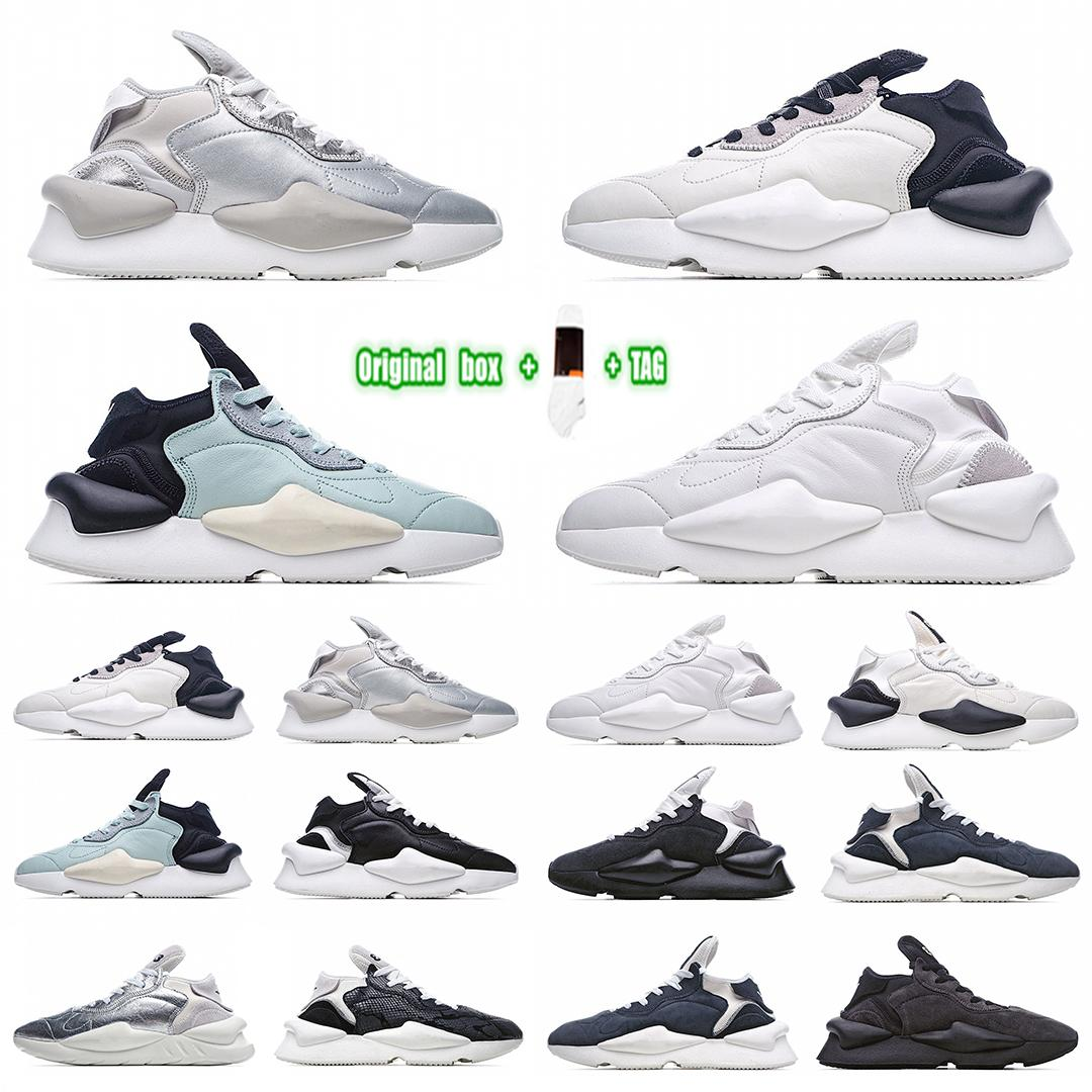 [Kutusu ile] Yohji Yamamoto Y-3 Kaiwa Knit Y3 Chunky Sneakers HJ Kaiwa series retro all-match lightweight casual sports dad running shoes thick suede upper