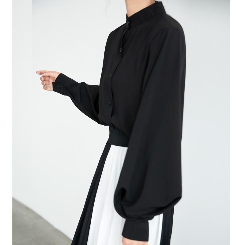 Herbst Winter Frauen Mode Casual Chiffon Hemd Plus Size Tops Frauenkleidung Harajuku Frauen Blusen Hemden