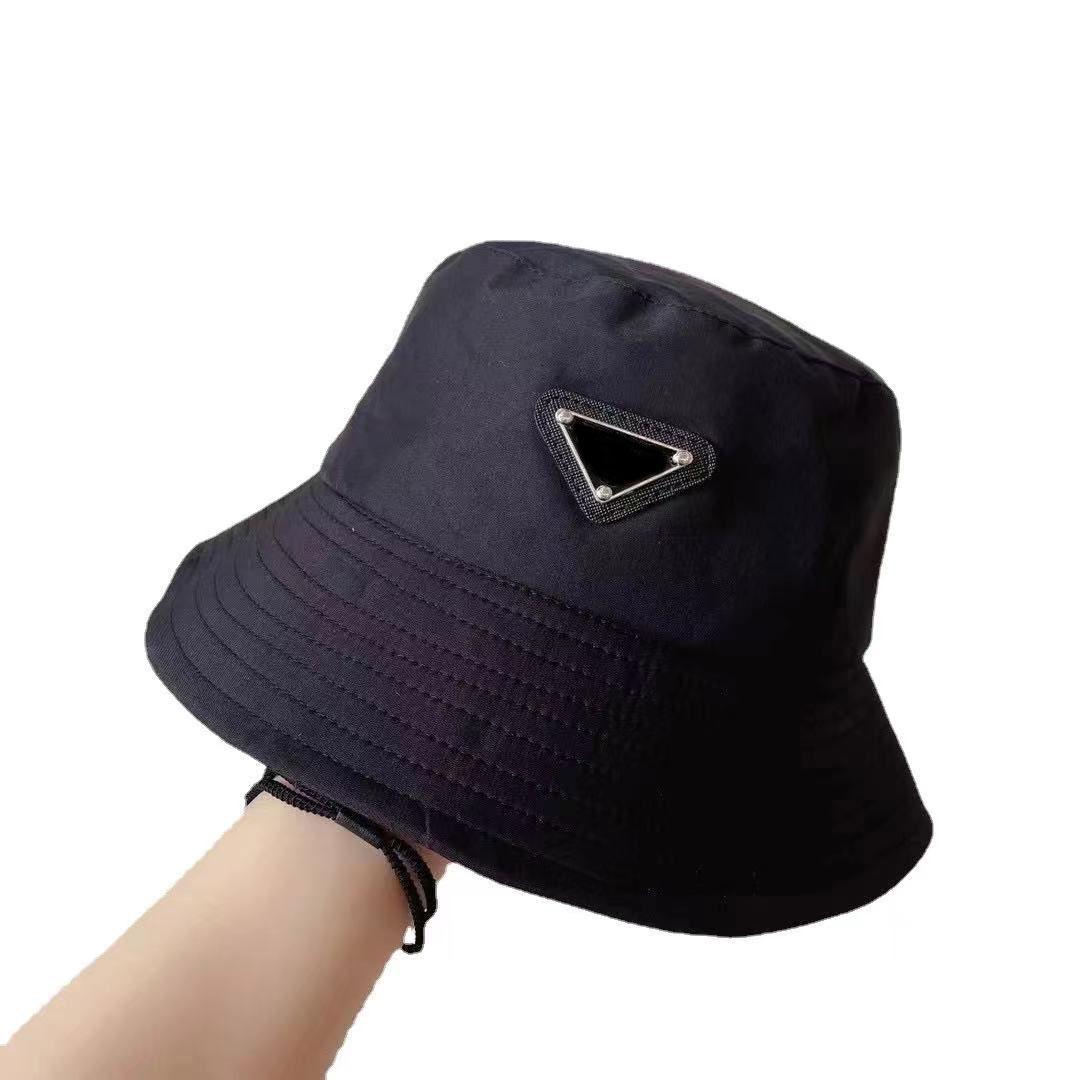 Случайные модные ковшные кепки мужские и женские бейсбольные шансы шансы кадровая крышка рыбака сращивание высокого качества летняя шляпа от солнца