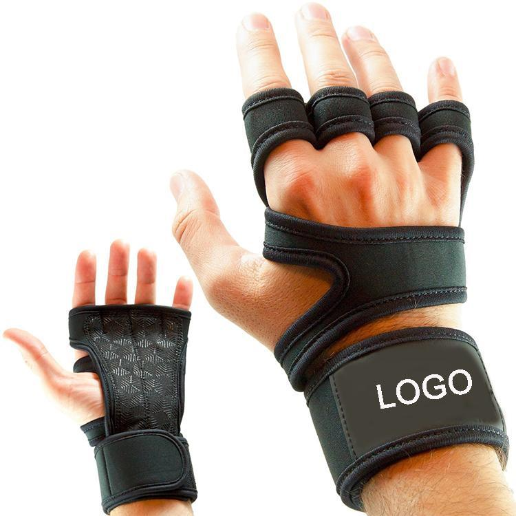 Cycling Gloves Ventilated High Quality Cross Gym Fitness Training With Wrist Support Half Finge