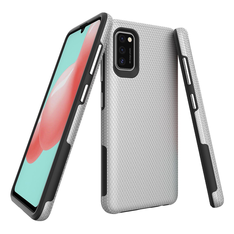 Çift Katmanlı Rugged Zırh Kılıfları Samsung Galaxy A32 5G 4G A21 A31 A20S A21S A11 A11 A02S A10S A01 Kapak