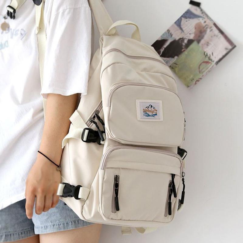 JOYPESSIE Female School Student Book Bag Travel Girls Rucksack Korean Fashion Women Waterproof Backpack For Teenager Mochila 210309