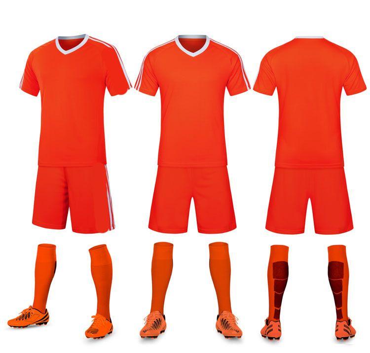 Fußball Jersey Fußball Kits Farbe Blau Weiß Schwarz Rot Rosa Gelb 2585623529