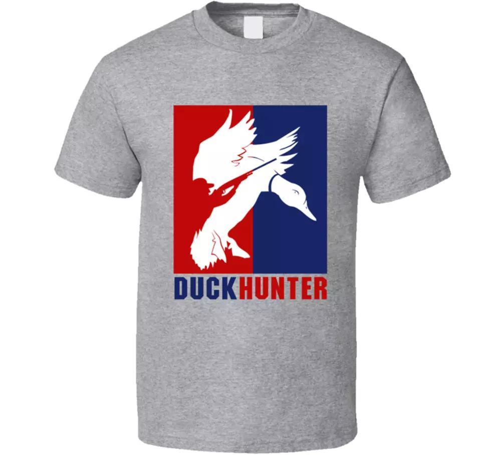 Duck Hunter T-Stück Sport Ente Hund Spiel Cartoon Springfield Herren T-Shirt Neu
