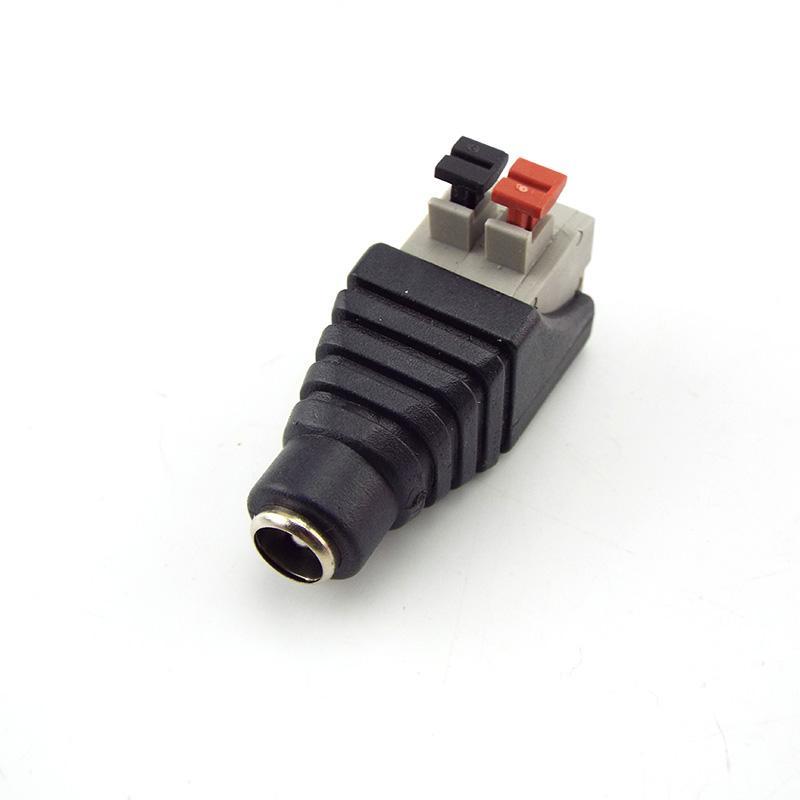 도매 BNC 커넥터 DC 여성 전원 잭 어댑터 플러그 SMD5050 SMD3528 SMD5730 단일 컬러 LED 스트립