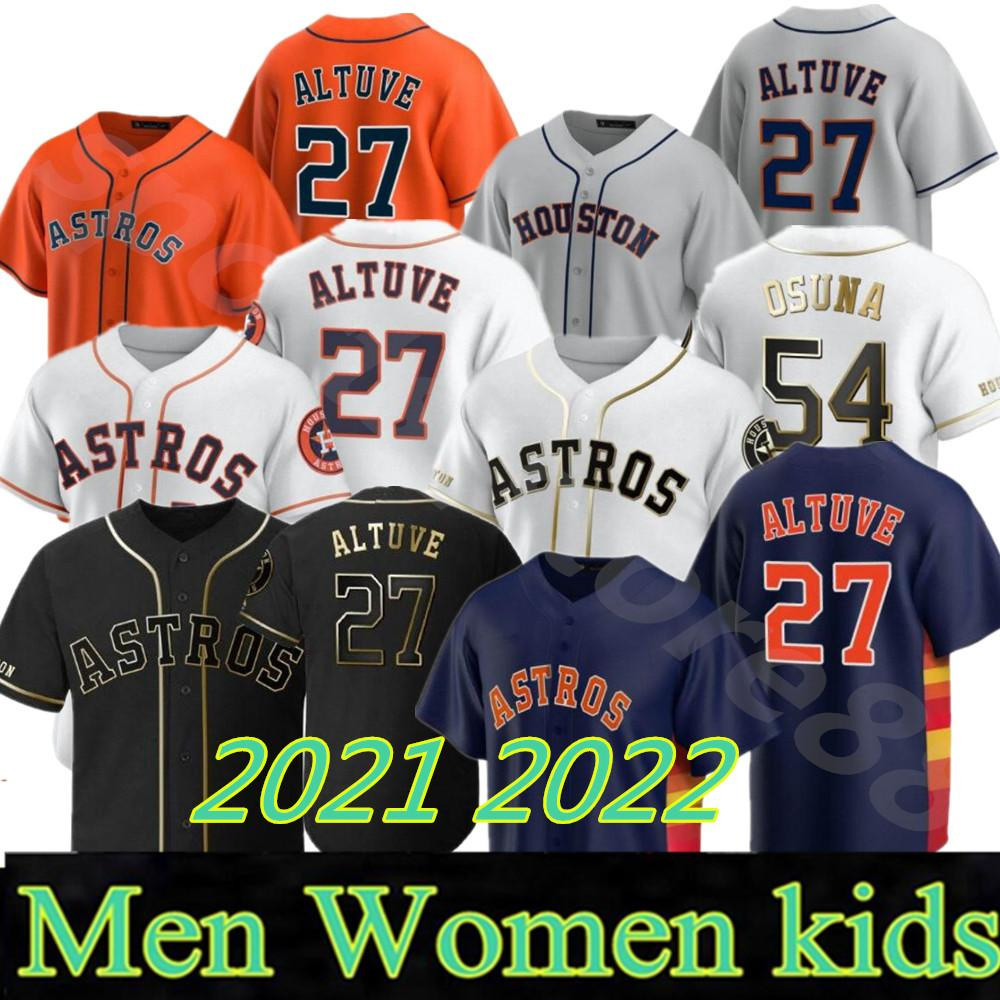 2021 Astros Jersey Jose Altuve Alex Bregman Carlos Correa Йордан Альварес Джастин Verlander Zack Grekke Yuli Gurril Nolan Ryan Prescly Castrolo Maldonado