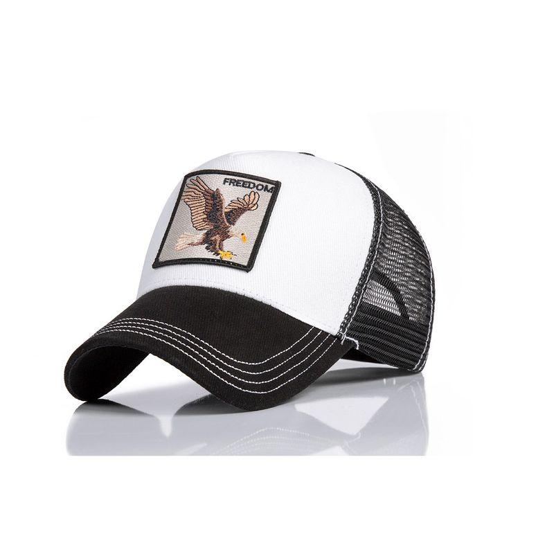 Fashion Summer Baseball Cap Embroidery Animal Cotton Women Men Trucker hats Hip Hop Caps