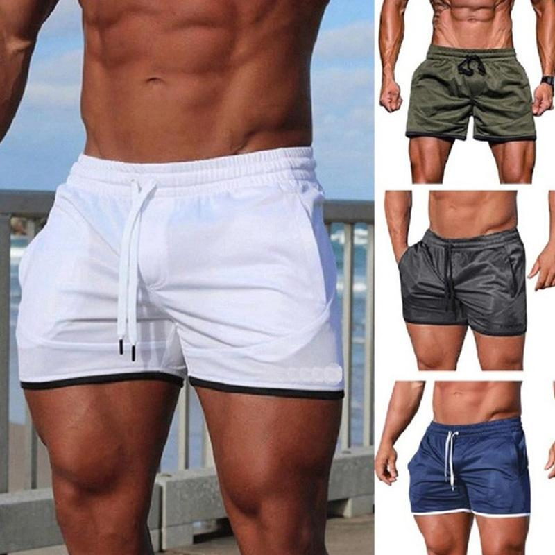 Mens Swimsuit Beach Shorts Swimming Briefs Suits Surf Breathable Fast Dry Fitness Slim Fit For Summer Sport Board