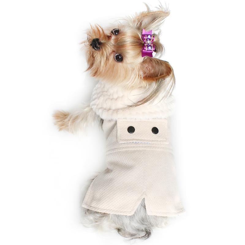 Ropa de perro Vestidos de invierno Cálidos Decoración Princesa Vestido para perros 6072021 Suministros de ropa para mascotas S M L XL