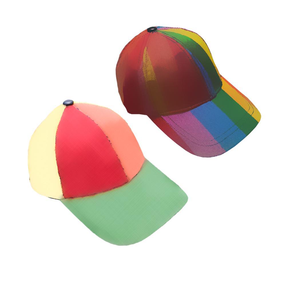 Ball Caps Hats Decorations Hip Pop Summer Sun Cap Beanies fashionhat Breathable Mesh Simple Adjustable Snapback Beanie Hat Boxes