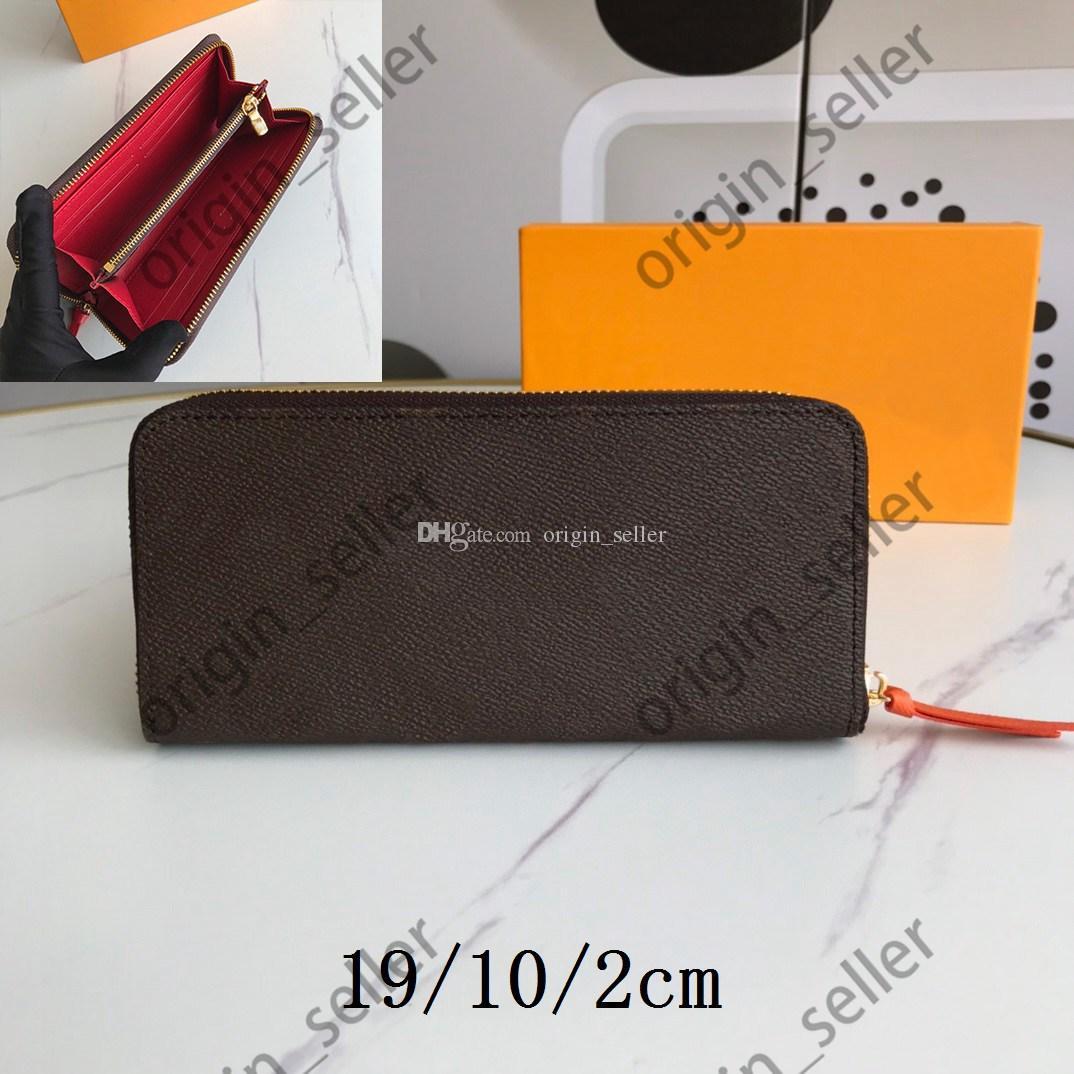 Double Zippy Wallet wallets purse mens wallet Portafoglio Casual Portafoglio donna titolare della carta di modo degli uomini di cuoio degli uomini di frizione