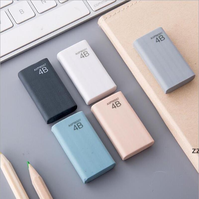학교 공급 지우개 한국 편지지 고품질 4B 연필 지우개 학생 편지지 멀티 색상 소매 가방 HWA7589