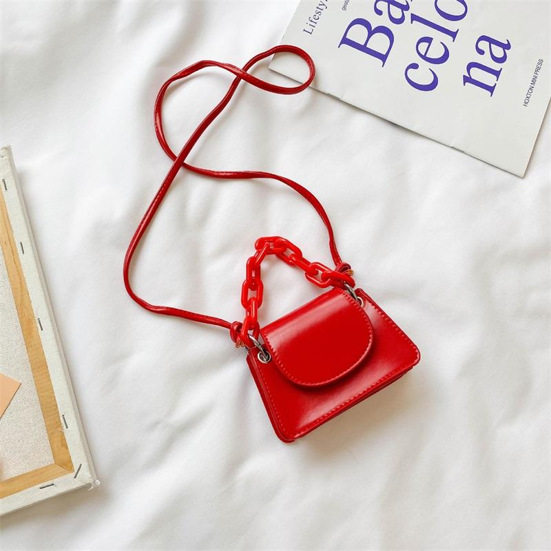 New Kids Chain Mini Handbags Children Yakli Chain Accessories Change Purse Lipstick Bag Girls candy Colors Messenger Bags C6671 212 Z2
