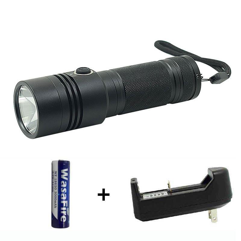 Lumen Led 18650 Camping Light Portable USB Rechargeable Tactical Torch Flash With Battry + Charger Flashlights Torches