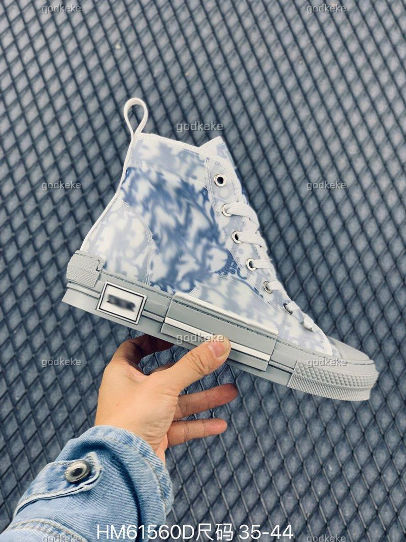 Christian Dior D'Or Niños Zapatos 2021 B23 B22 B24 Designer Sneakers Obliques Técnico Cuero Alto Flores Bajo Plataforma Al Aire Libre Casual Vintage Siz USA