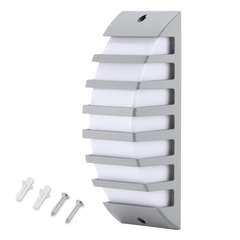 개 암호 벽 빛 현대 간단한 램프 마운트 AC 85-265V 정원 가정 복도 램프에 대 한 방수 야외 조명