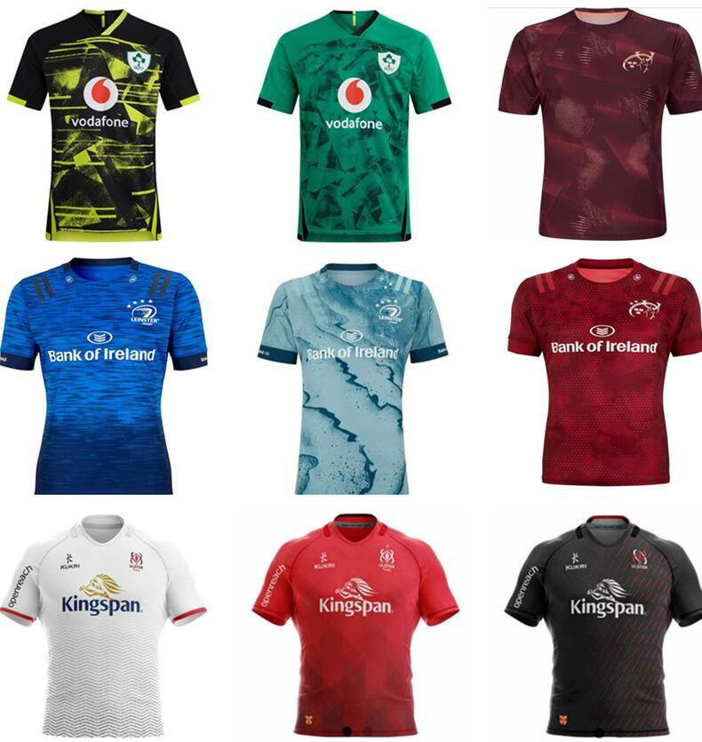 20 21 İrlanda Rugby Formalar İrlandalı Irfu Munster Şehir Ligi Leinster Alternatif Jersey 2020 2021 Ulster Irishman Gömlek