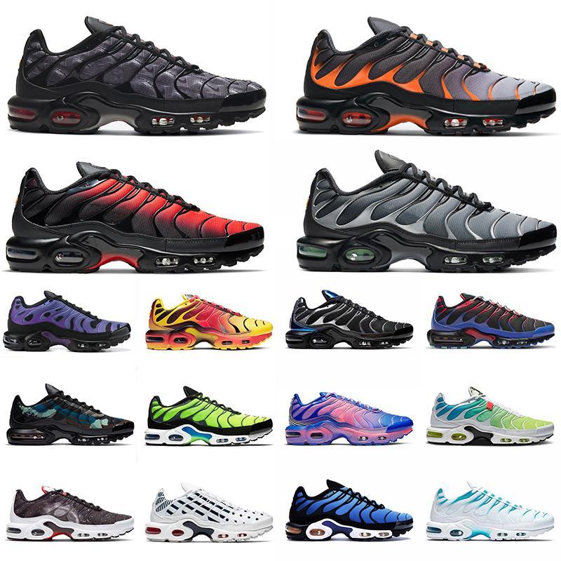 nike wmns air max plus tn se Hommes Chaussures de course Chaussures Topographie Spider Web Triple Triple Noir Woraldwide Hommes Entraîneurs Sports Sneakers