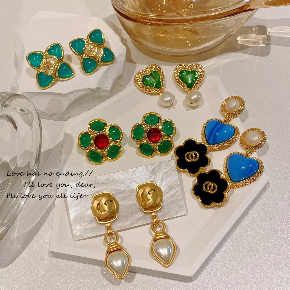 Boucles d'oreilles parfumées de haute qualité de haute qualité Medieval Tempérons de grande qualité