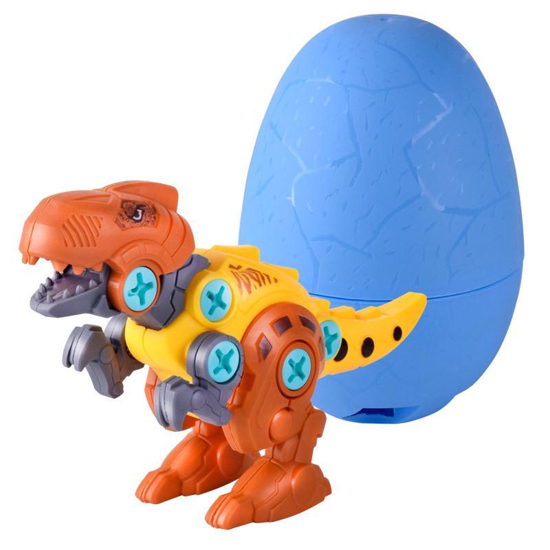 Multicolor Inteligencia Juguetes DIY Dinosaurios Niños Niños y niñas Juguete Puzzle Aprendiendo Divertido Desmontaje Huevos Juegos