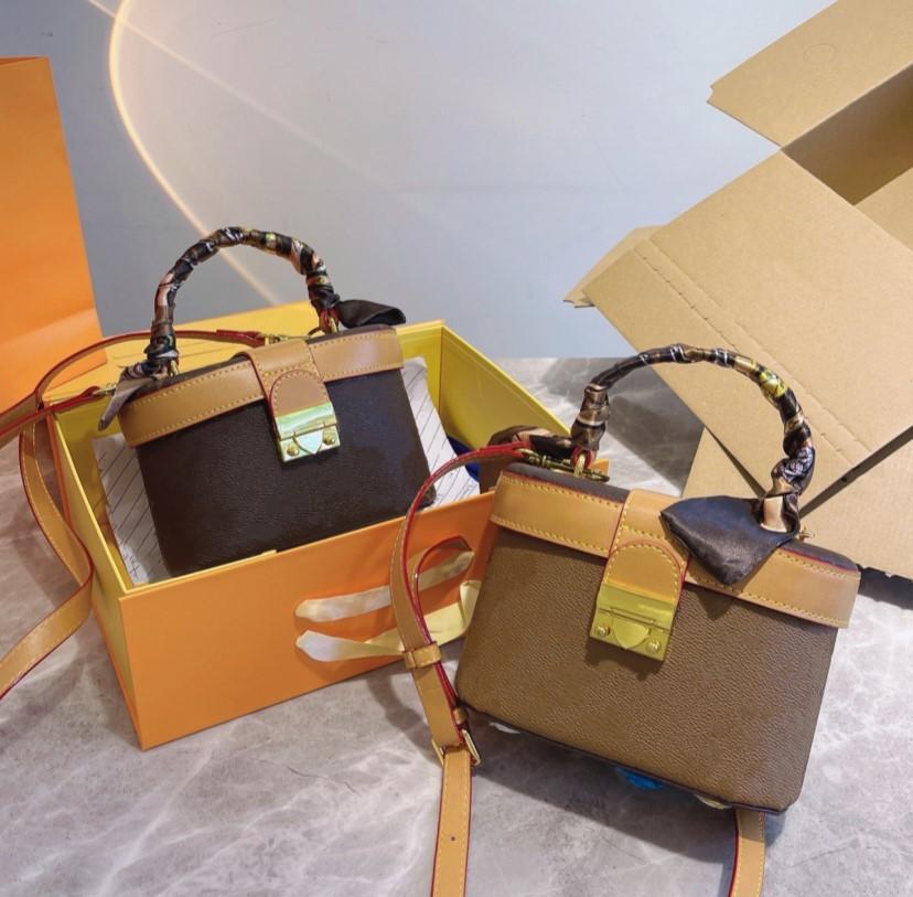 Tasarımcılar Luxurys Kozmetik Çanta Moda Kadınlar Omuz Çantası Kılıfı Yıkama Çantaları Kıdemli Yüksek Kalite Ile İpek