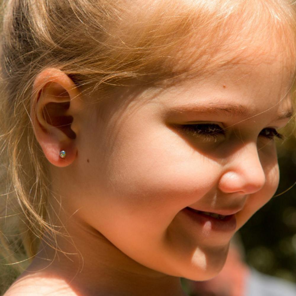 1 Unit Disposable Safe Sterile Ear Piercing Unit Nose Ring Earring Stud Piercing Gun Piercer Tool Machine Kit Stud