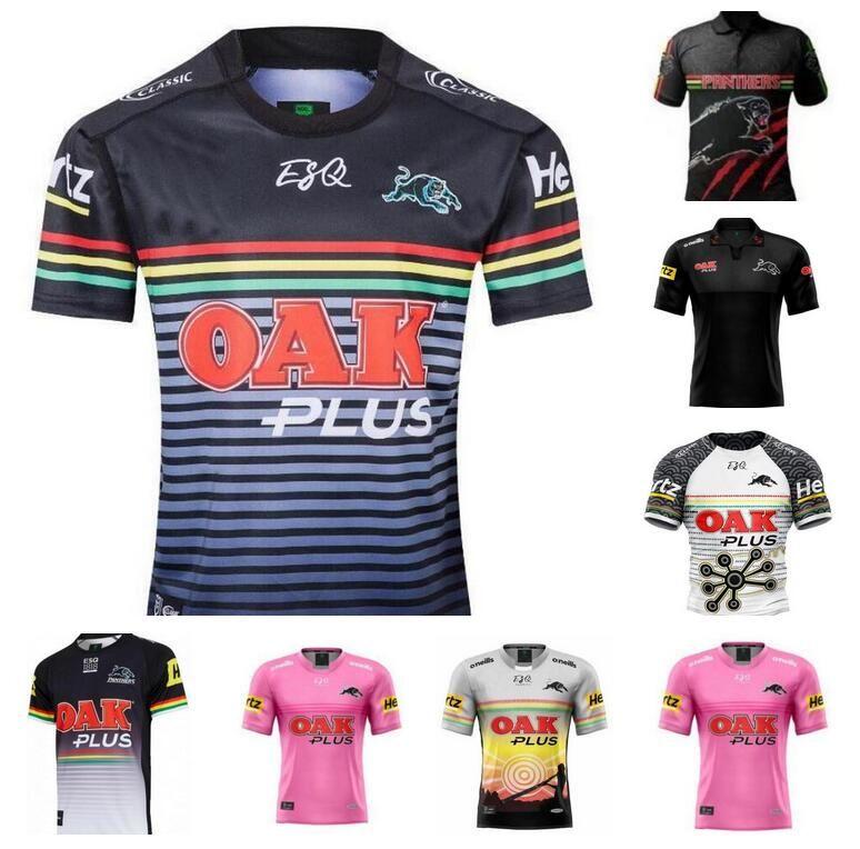 2021 Penrith Panthers 원주민 럭비 유니폼 19 20 홈 저지 내셔널 리그 오스트레일리아 NRL 셔츠 크기 S-3XL
