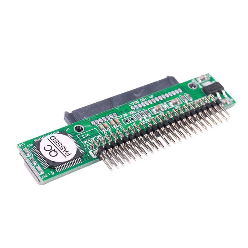"""7 + 15 دبوس SATA SSD HDD أنثى إلى 2.5 """"44pin IDE مهايئ الذكور لمحركات الأقراص الصلبة الخارجية"""