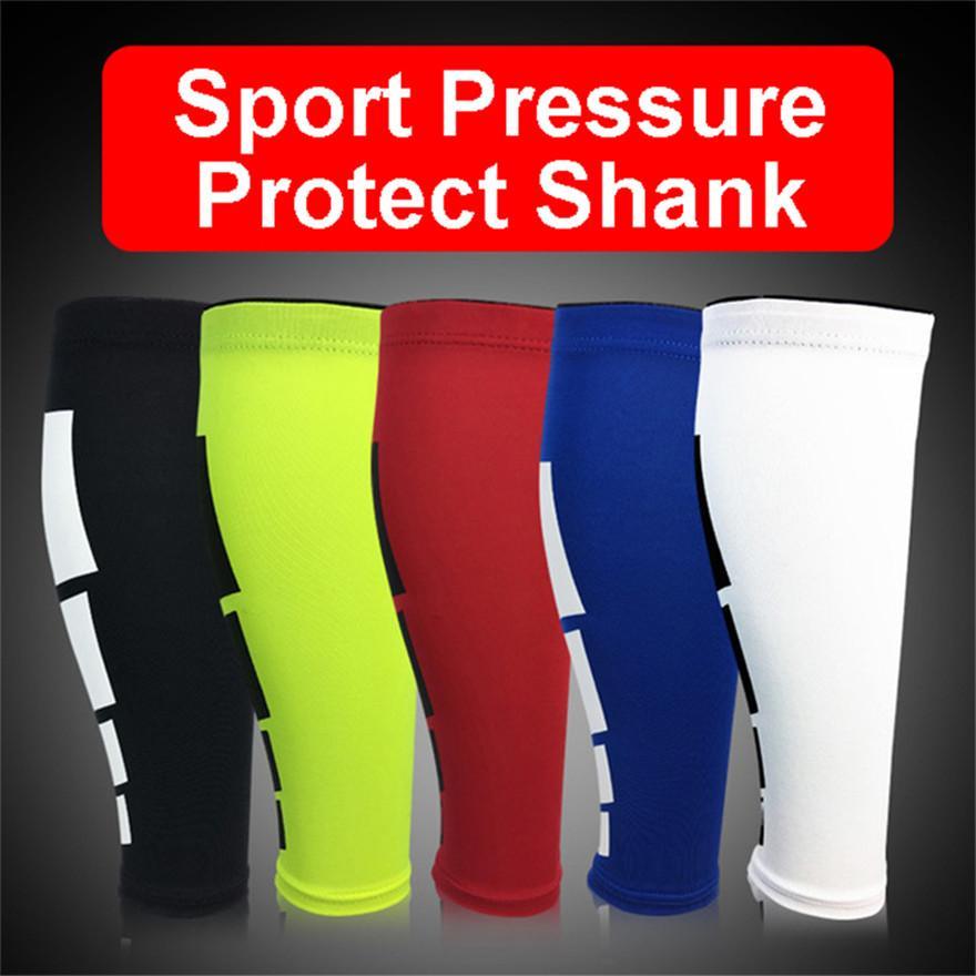 Women Men Leg Knee Pads Calf Support Shin Guard Base Layer Compression Running Soccer Football Basketball Sleeves Safety