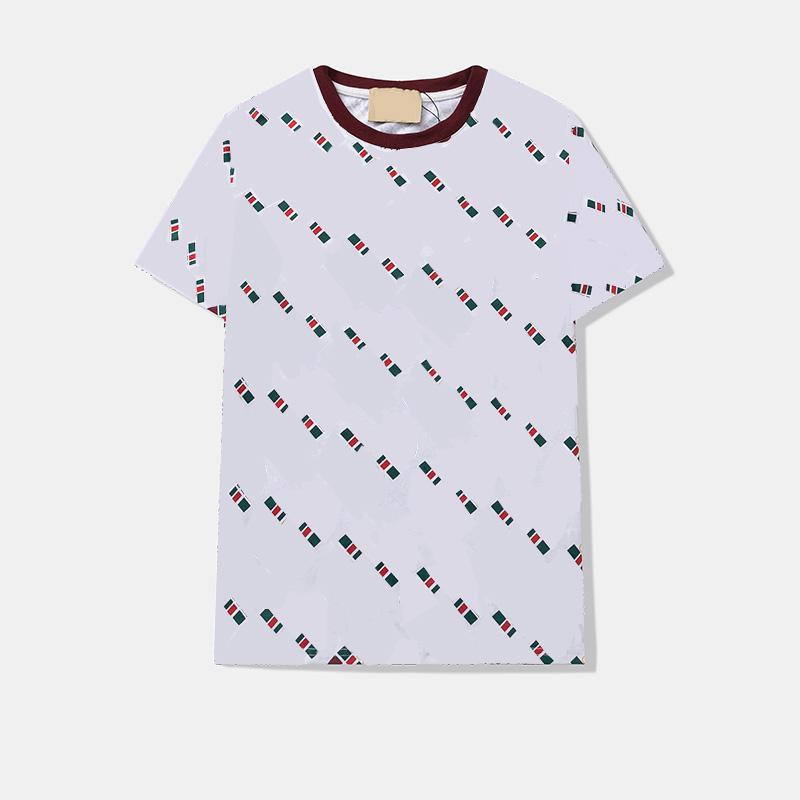 Erkek Casual Tişörtleri Yaz Solunum Tees Sokak Giyer Shirts Unisex Fit Mektuplar Baskılı T Gömlek Yuvarlak Boyun Kısa Kollu M-2XL