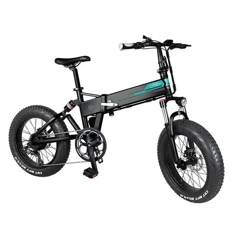 [Stock] Fiido M1 Pro Elektrische Fahrrad Smart Scooter 20 Zoll Fettreifen 12.8ah 48 V 500 Watt Falten Moped Fahrrad 50km / h Höchstgeschwindigkeit 130km Kilometerraum