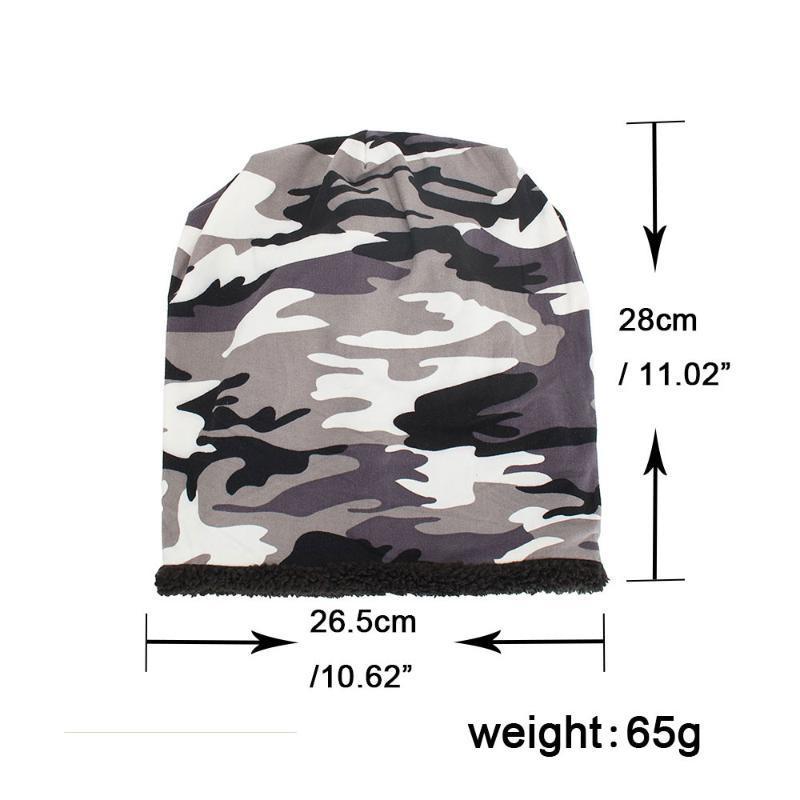 Şapkalar, Atkılar Eldiven Setleri 2021 LY Moda Kadın Erkek Sıcak Baggy Kamuflaj Tığ Kış Yün Kayak Beanie Kafatası Kapaklar Şapka Ücretsiz #a