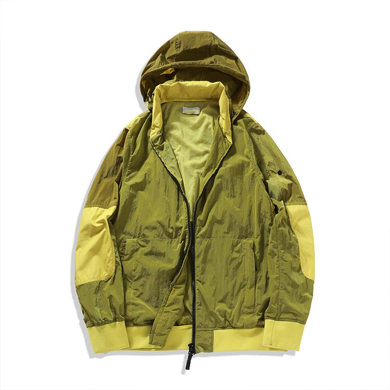 50% Off Üst Tasarımcı Erkek Kadın Ceket Ince Moda Stoney Coat Açık Güneş Geçirmez Rüzgarlık Sunscreen Giyim Beyaz Siyah Gri Iland Boyutu M-2XL Için