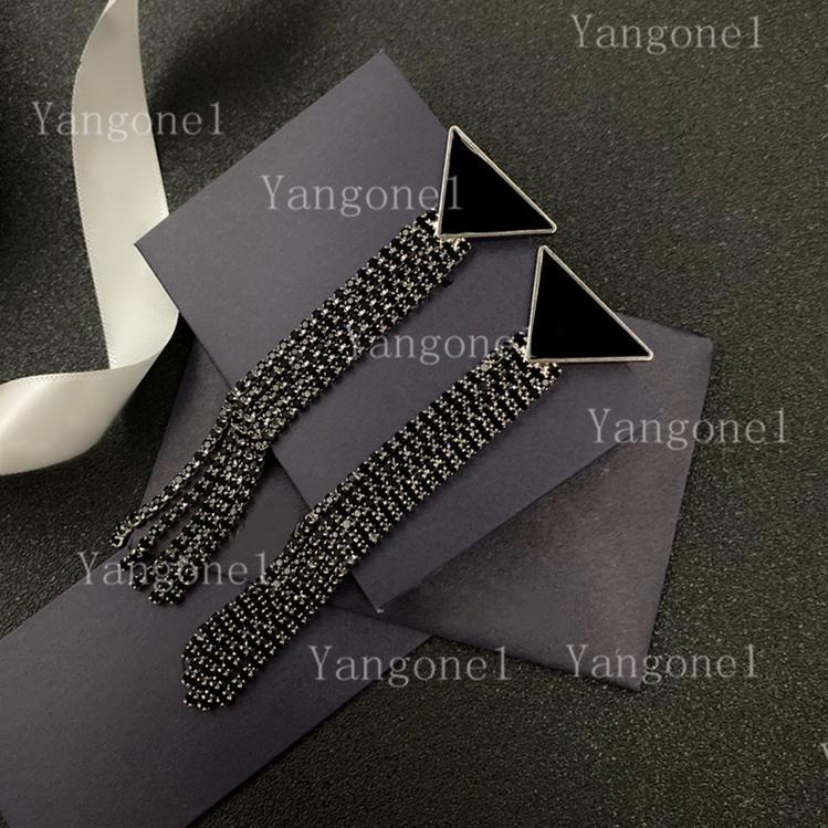 Mode Quaste Ohrstecker einfache europäische und amerikanische trendige Brief Ohrring Frauen Schmuck für Partygeschenk