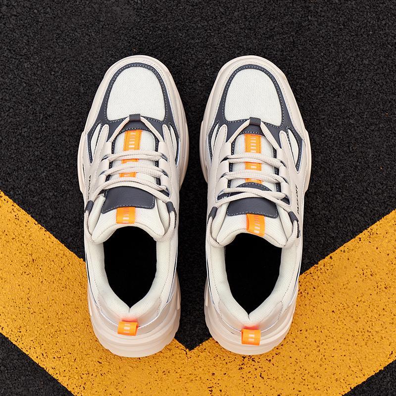 Mesh Mode Laufschuhe Für Frauen Männer Herren Lichte Frühlingsfall Athletische Atmungsaktive Chaussures Sport Leichte Zapatos Skateboard Großhandel Aktien Sechs 39-44
