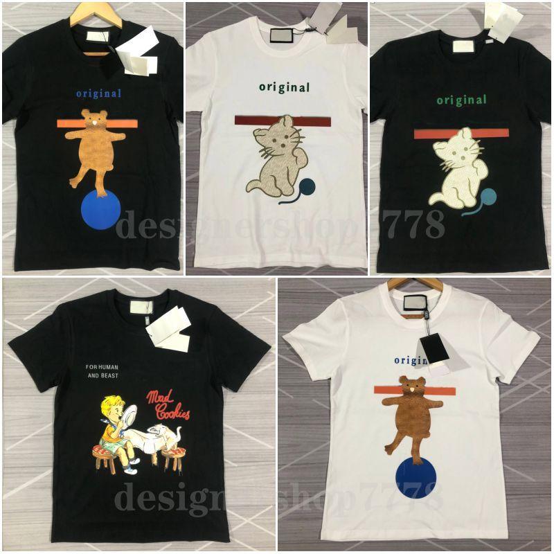 Femme Hommes Designers T shirts T-shirts Lettre de la mode Impression à manches courtes Lady Tees Luxurys Casual Vêtements Tops T-shirts Vêtements 2021