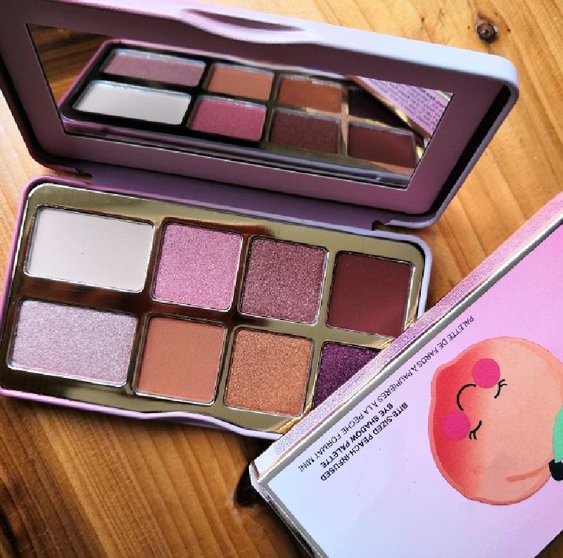 estoque cócegas pêssego mini sombra maquiagem paleta férias chirstmas 8color paleta de sombra
