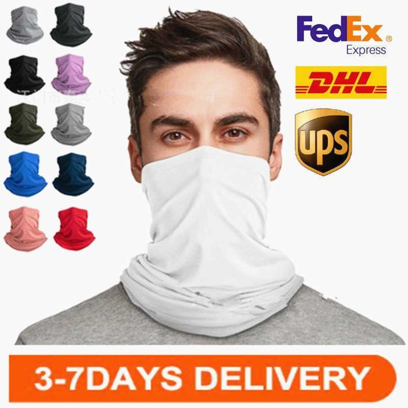 Summer Milk Silk Quick-dry Face Towel Outdoor Cycling Anti-sun Sai Breathable Mask Cap Magic Scarf Customization
