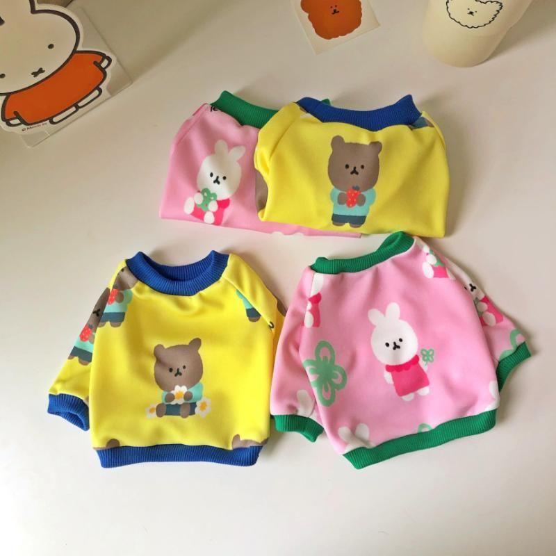 Cute Pet Dog Clothes Vest T-Shirt For Bear Cotton Tshirt Summer Large Size Pets Dogs Clothing Shirt S-3XL Apparel