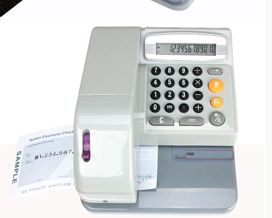 INKJET BANK Международный чековый принтер 16 стран валютные проверки тиснение слов проверяют печать