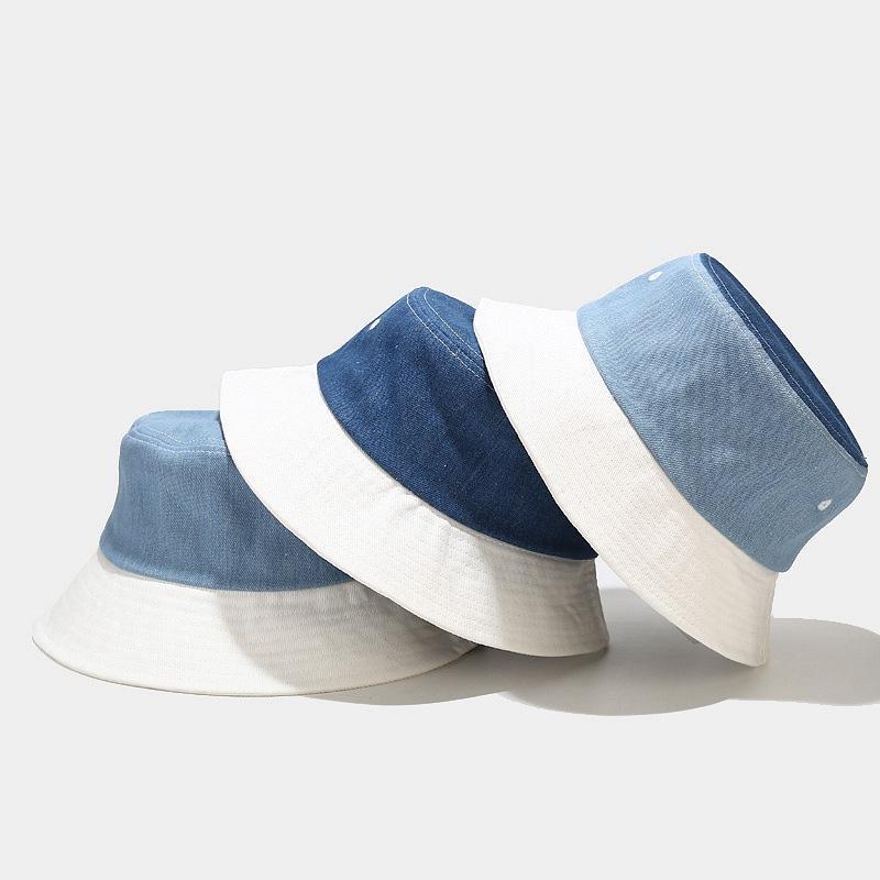 2021 diseñador para mujer verano vaquero pescador sombrero hembra al aire libre calle moda salvaje olla sombreros retro solbonnet
