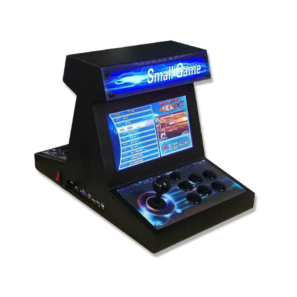 2500 in1 데스크탑 더블 전체 철 게임 콘솔 10 인치 디스플레이 싸우는 아케이드 기계 달빛 상자 XS1500 가정용