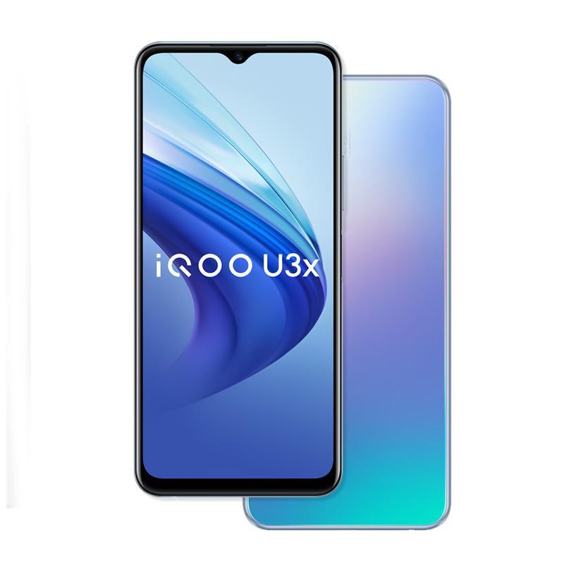 Original vivo iqoo u3x 5g Handy 4 GB RAM 128 GB ROM Snapdragon 480 Octa Core Android 6,58 Zoll Full Screen 13.0mp 5000mAh Fingerprint id Face Wake Smart Mobiltelefon